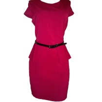 Red Peplum Dress by Worthington