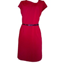 Red Pencil Dress by Liz Clairborne