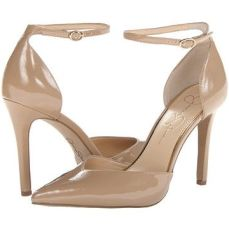 Nude stiletto with ankle strap by Jessica Simpson SOLD OUT