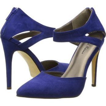Blue pointy stiletto by Michael Antonio SOLD OUT