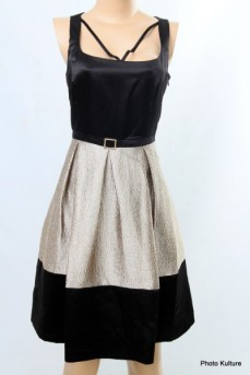 Gold and Black Outing Dress SOLD OUTby Dana Kay SOLD OUT