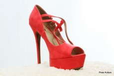 Strappy platform pump by Charlotte Russe SOLD OUT