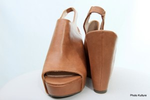 Brown open toe wedge by Steve Madden SOLD OUT