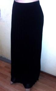 Long black pleated skirt. NGN 12000