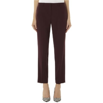 Wine coloured pencil pants SOLD OUT