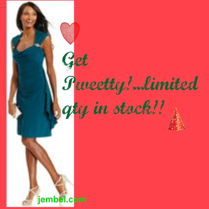 blog green dress