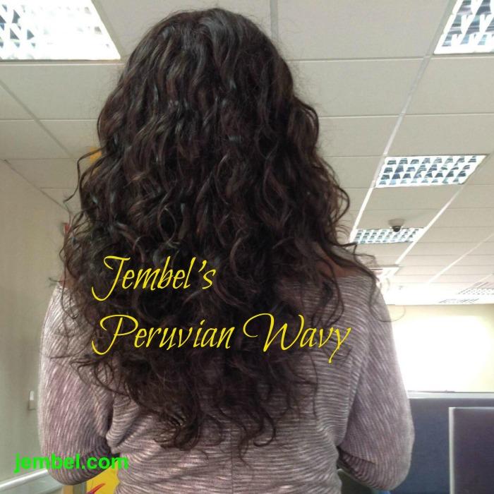 Jembel peruvian wavy