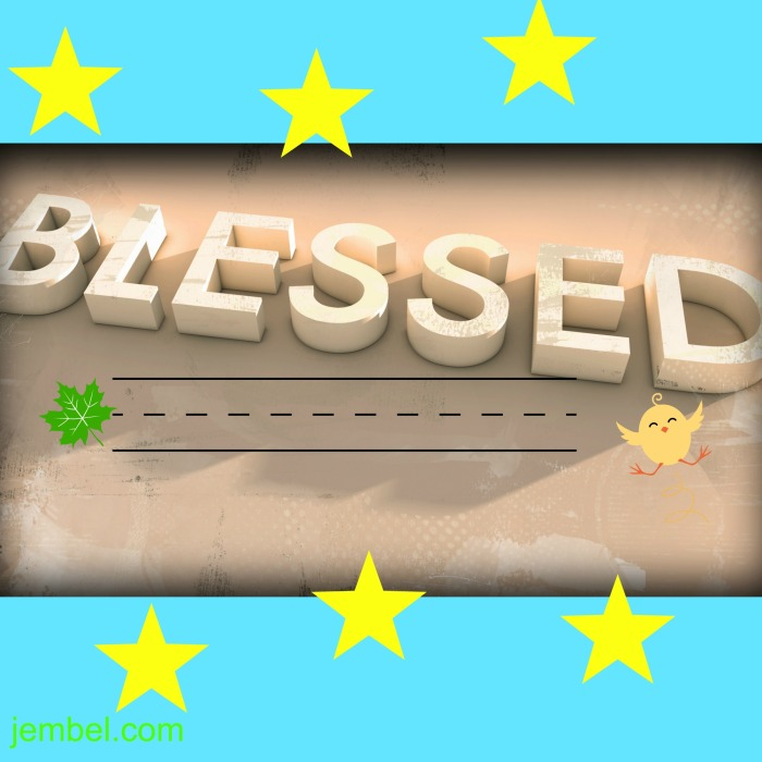 Blessed fully