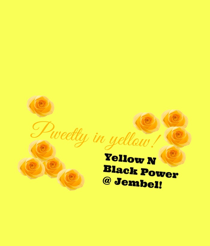 yellow and black powwer