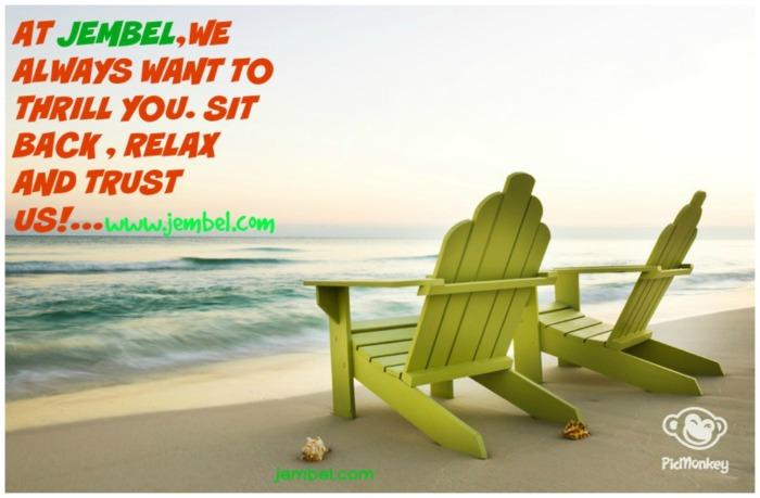 Sit back