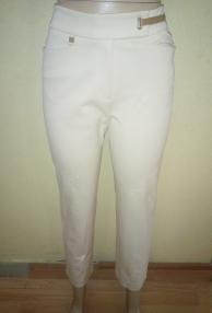 Light cream stretch Capri pants by Ralph Lauren. NGN 7,500