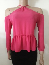 Sienna sky top with cut out sleeves. NGN 5500