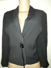 Black jacket with foldable sleeves. NGN 10000