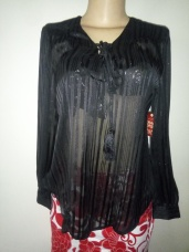 Loose top with kriss cross design NGN 7000