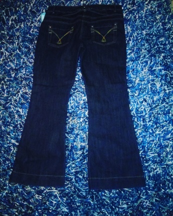 Boot cut navy jeans NGN 8500