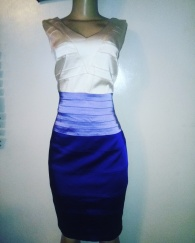 Three colour combo dress NGN 10,000
