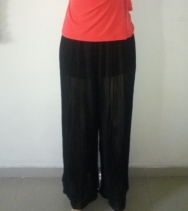 Pleated palazzo pants. NGN 10,500