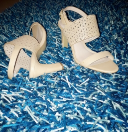 Kelly and Katie nude sandals. NGN 15,000