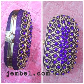 Gorgeous Purple clutch bag @ NGN 8000