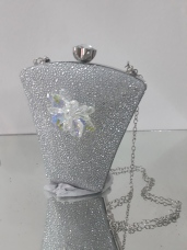 Bucket shaped silver clutch. Also available in gold. NGN 12000SOLD OUT
