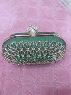 Pweetty Green clutch bag NGN 8000