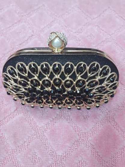 Gorgeous black clutch bag NGN 8000