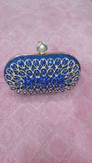Blue honey clutch bag NGN 8000