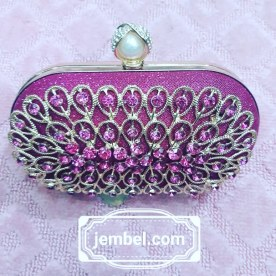 Pink berry clutch bag NGN 8000