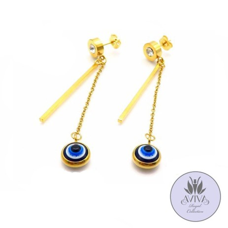 Ojo drop earrings NGN 2500