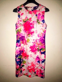 Pink floral dress by DKNY. NGN 15700SOLD OUT
