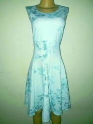 Light blue floral dress. NGN 16,500