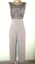 R and M classic nude coloured sequined jumpsuit. NGN 25000 SOLD OUT