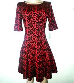 Red & Black super dress. NGN 15000