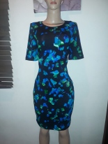 Short sleeved floral straight dress vy Calvin Klein. NGN 17000 SOLD OUT