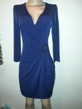 V nrck navy wrap dress by Calvin Klein. NGN 15000
