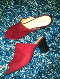 Liz Clairborne burgundy slippers. NGN 13,500 SOLD OUT