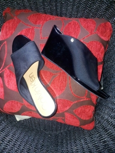 Black Calvin Klein slippers. NGN 15000 SOLD OUT