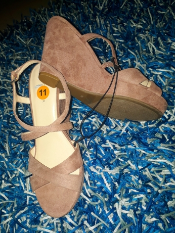 Brown wedges by Marc Fisher NGN 13000SOLD OUT