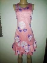 Ivanka Trump's sleeveless peach floral dress. NGN 17000