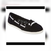 Arizona black boat shoes. NGN 15000