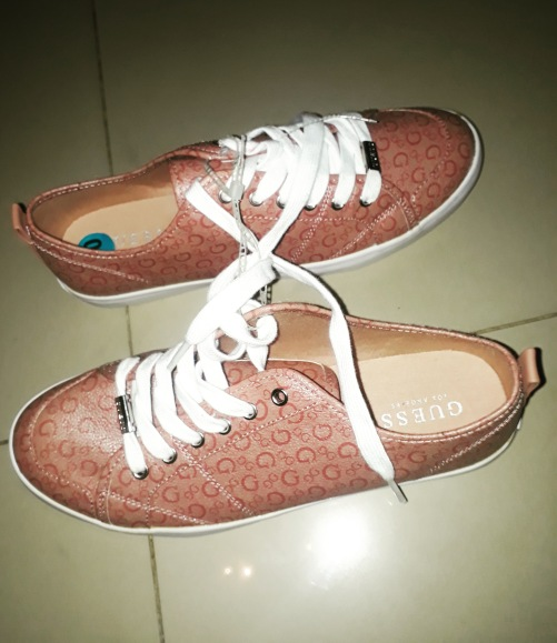 Brown Guess sneakers NGN 15000