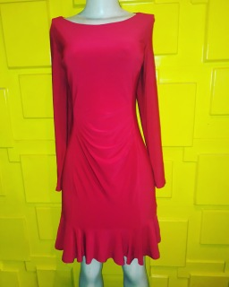 Red chic dress by Ralph Lauren. NGN 18000 SOLD OUT