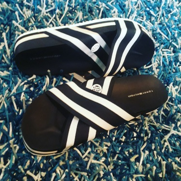 Tommy Hilfiger Slippers. NGN 135000SOLD OUT