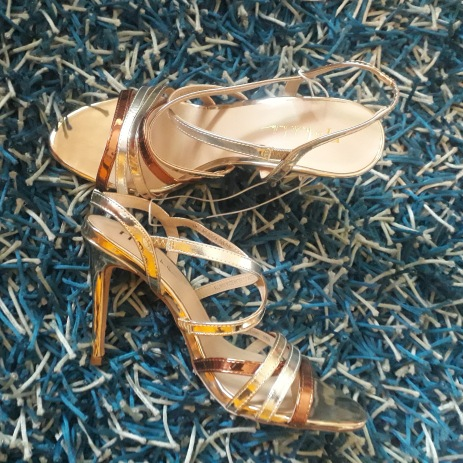 3 tone Nicole Miller sandals. NGN 16000