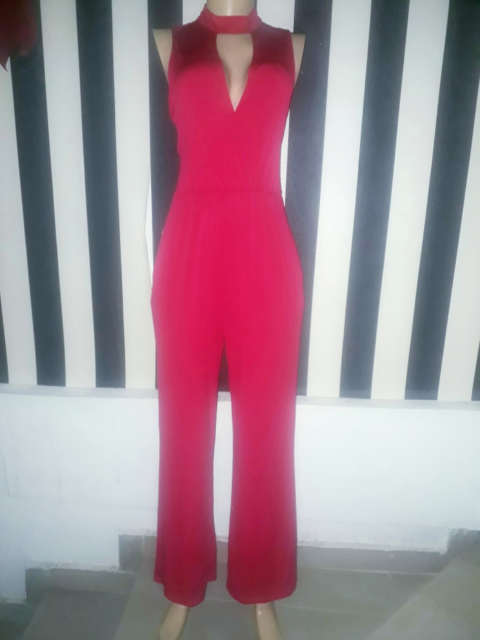 Red Jumpsuit. NGN 15 000