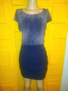 Enfocus Studio short dress. NGN 12000