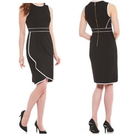 Calvin Klein black and white dress . NGN 16000 SOLD OUT