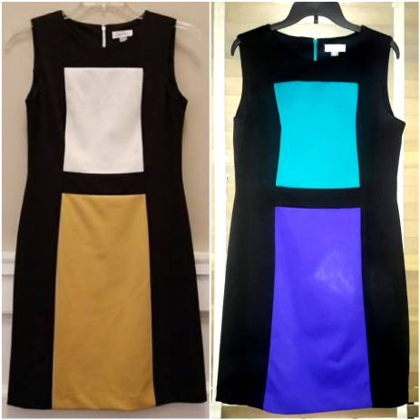 Colour block dress by Calvin Klein NGN 15000 SOLD OUT