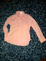 Peach soft silky top by H and M. NGN 6500