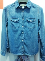 Fitted denim jackta bu LOGG. NGN 7500